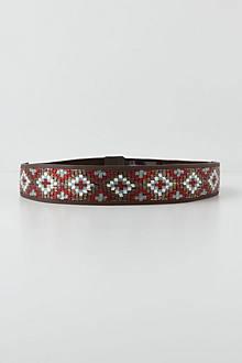 Crossed Beads Belt