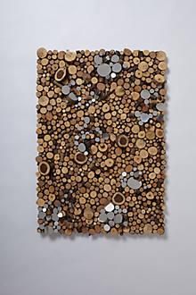 Wood Piles By Lee Borthwick levee