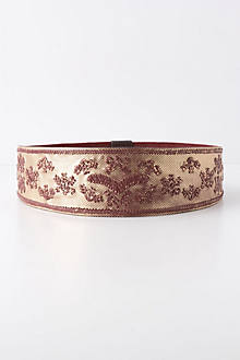 Gilded Embroidery Belt