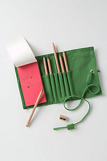Canvas Pencil Roll