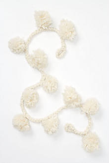 Snow Poms Wool Garland