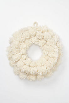 Tufted Wool Wreath