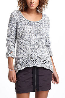 Slouchy Marled Pullover