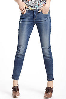 Pilcro Stet Slim Ankle Distressed