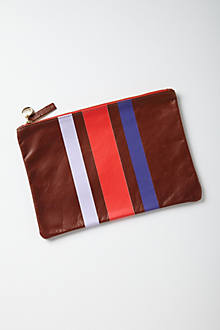 Striped Trinity Pouch