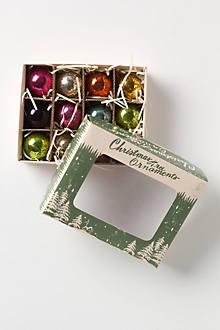 Vintage Glass Ball Set