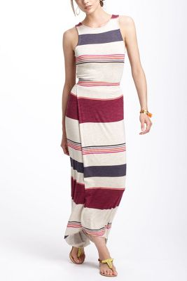 Sweeping Stripes Maxi