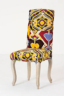 Velvet Ikat Clarissa Dining Chair