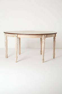 Scripted Stems Table