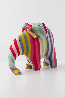 Confectionary Wool Elephant