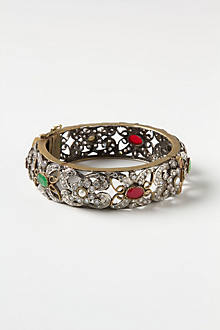 Flora Filigree Bangle