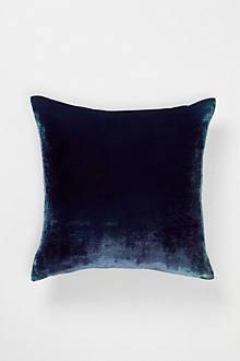 Grey Ombre Velvet Pillow