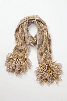 Edita Looped Fringe Scarf