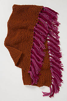 Netty Fringed Scarf