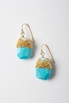 Dazzled Turquoise Drops