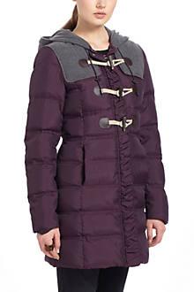 Toggled Puffer Coat