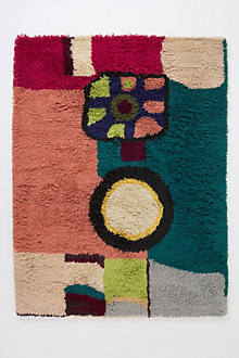 Geometric Abstraction Rug