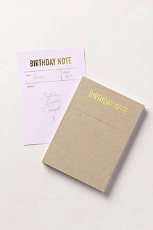 Letterpress Notepad