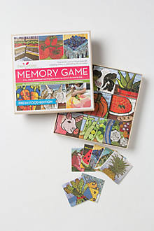 Fresh Foods Memory Game