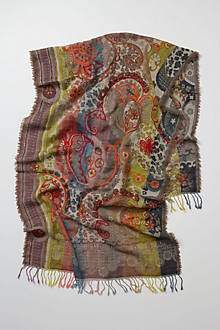 Kovdor Embroidered Scarf