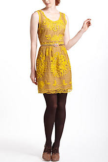 Honeycomb Lace Dress