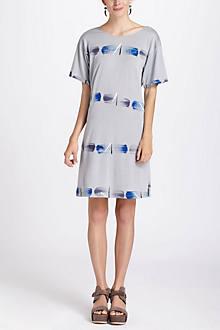 Strokes &  Lines Tee Dress