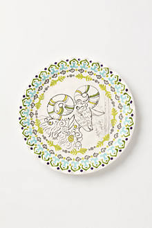 Forest Fable Dessert Plate