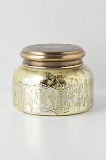 Giant Capri Blue Iridescent Jar Candle