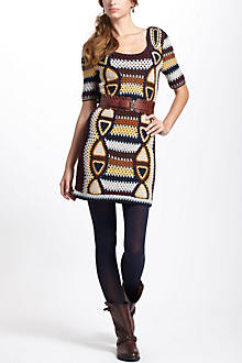 Medallion Sweater Dress