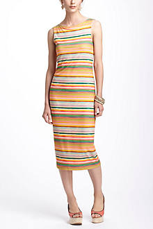 Color Spectrum Midi Dress