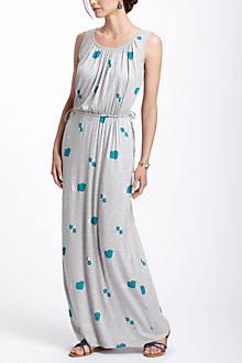 Grey Equilibrium Maxi Dress