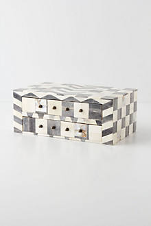 Bone Mosaic Jewelry Box