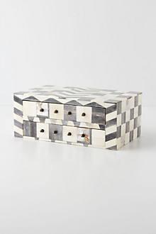 Bone Mosaic Jewelry Box