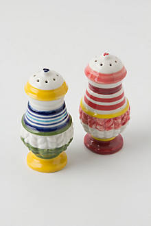 Piccadilly Salt & Pepper Shakers
