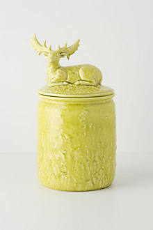 Alpine Wanderers Cookie Jar, Deer