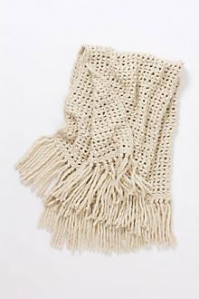 Open-Weave Throw