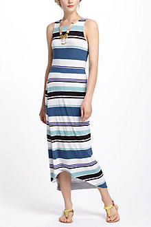 Petite El Ray Striped Maxi Dress