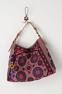 Winsome Embroidered Hobo