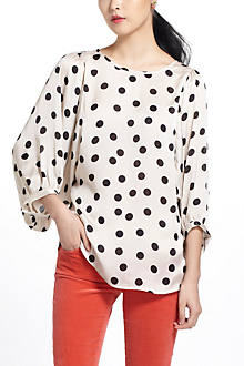 Dotty Monochrome Blouse