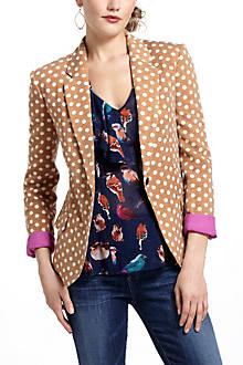 Dotty Knit Blazer