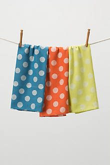 Dotted Jacquard Dishtowels