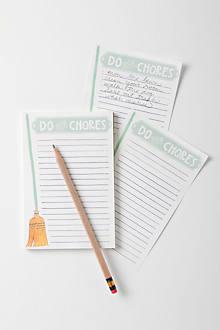 Do Your Chores List