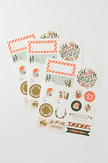 Holiday Stickers & Labels