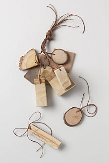 Tree Bark Gift Tag Set