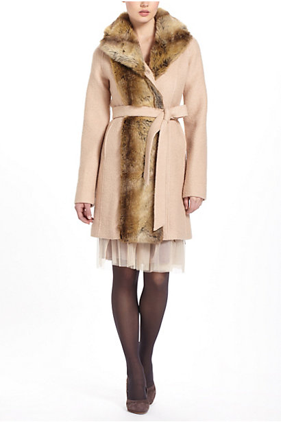 Divna Fur Jacket Anthropologie from anthropologie.com