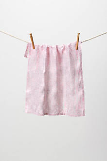 Red Gingham Dishtowel