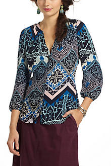 Jerez Silk Buttondown