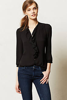 Ruffled Picea Buttondown