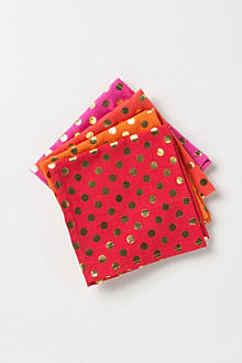 Foiled Dot Napkin Set