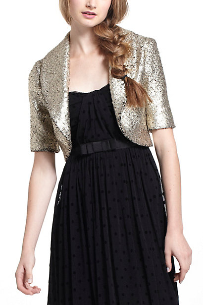 Pebbled Foil Jacket - Anthropologie